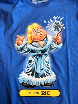205db6029 Item# 03476611 : Slick Ric Garbage Pail Kids T Shirt - WWE Price: $21.99